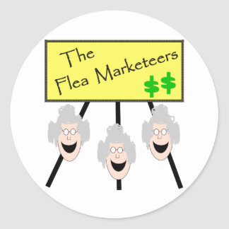 The Flea Marketeers Stickers