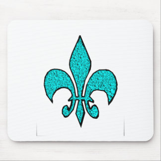 The Fleur-de-Lis Mouse Pad