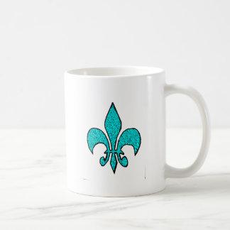 The Fleur-de-Lis Coffee Mugs