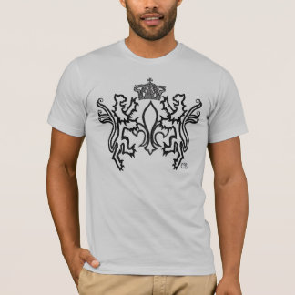 The Fleur-de-lis Royal Emblem. T-Shirt