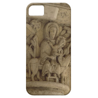 The Flight into Egypt, column capital relief from iPhone 5 Covers