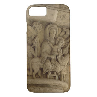 The Flight into Egypt, column capital relief from iPhone 7 Case