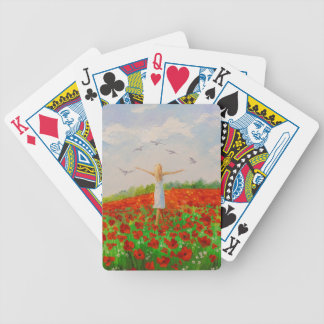 The flight of the soul bicycle playing cards
