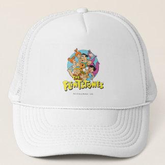 The Flintstones and Rubbles Family Graphic Cap