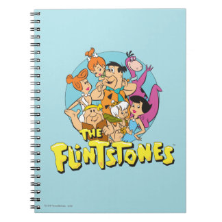 The Flintstones and Rubbles Family Graphic Notebook