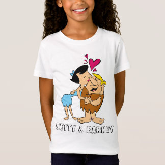 The Flintstones | Betty Kissing Barney T-Shirt