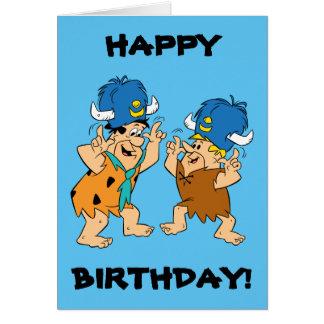 The Flintstones | Fred & Barney Water Buffaloes Card