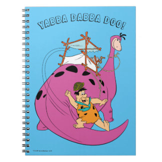 The Flintstones | Fred Sliding Down Tail Notebook