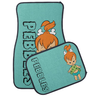 The Flintstones | Pebbles Flintstone Car Mat