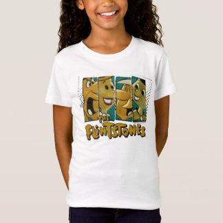The Flintstones | Retro Comic Character Panels T-Shirt