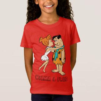 The Flintstones | Wilma Kissing Fred T-Shirt