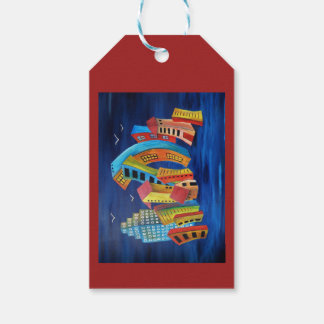 The Floating City Gift Tags