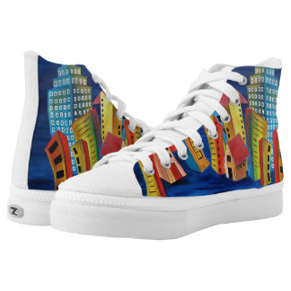 The Floating City High Tops