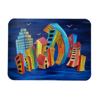 The Floating City Magnet
