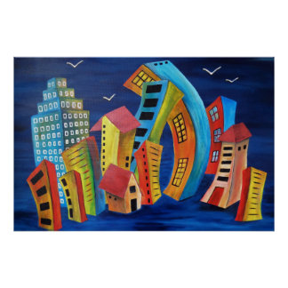 The Floating City Poster