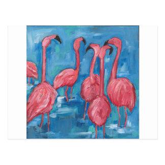The flock postcard