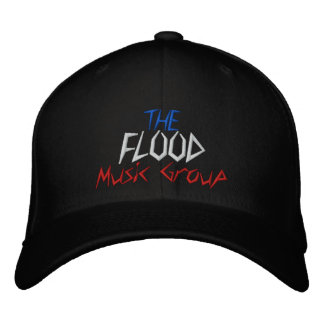 The Flood Music Group - Customized - Customized Embroidered Baseball Cap