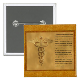 The Florence Nightingale Pledge 15 Cm Square Badge