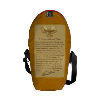 The Florence Nightingale Pledge Courier Bags