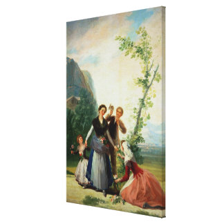 The Florists or Spring, 1786 Canvas Print