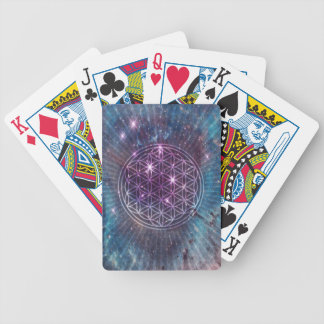 The Flower Bicycle Playing Cards