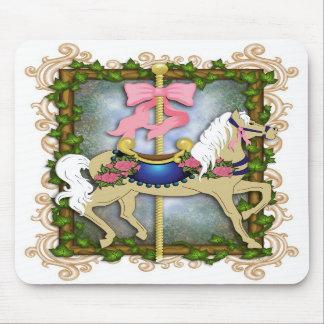The Flower Carousel Mousepad