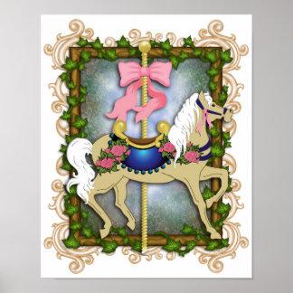 The Flower Carousel Print