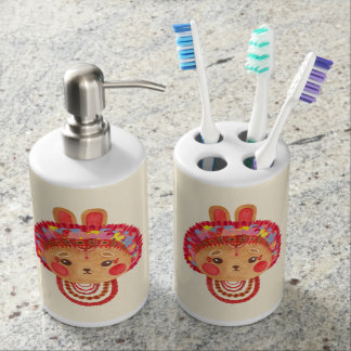 The Flower Crown Bunny Soap Dispensers