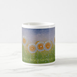 The Flower Fades Mug