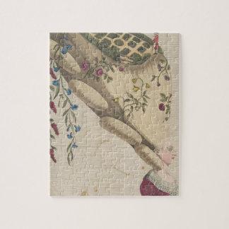 The Flower Garden - Matthew Darly Jigsaw Puzzle