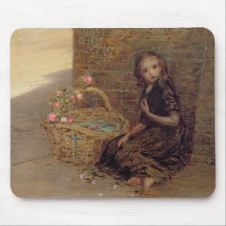 The Flower Girl, 1872 (oil on canvas) Mouse Pad