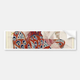 The Flower of Immortality - Dance Bumper Sticker