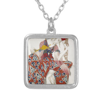 The Flower of Immortality - Dance Silver Plated Necklace
