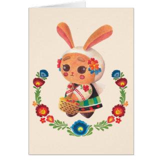 The Flower Polish Bunny Card