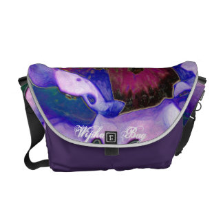 The Flower Wonder bag Messenger Bags