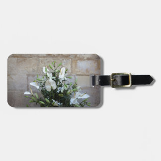 The flowers luggage tag