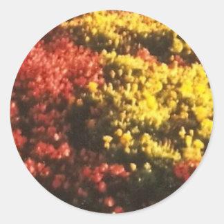 The Flowers Round Sticker