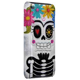 The Flowery Skull iPod Case-Mate Cases