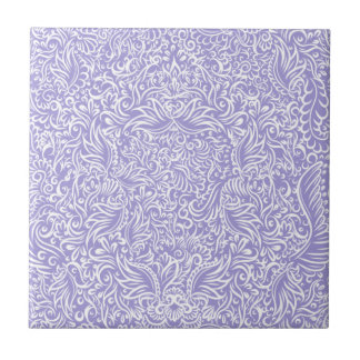 The flowing vines of Lilac Tile