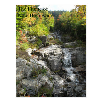 The Flume of New Hampshire Postcard