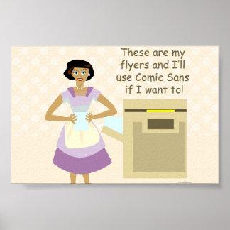 The Flyer Design Goddess Print