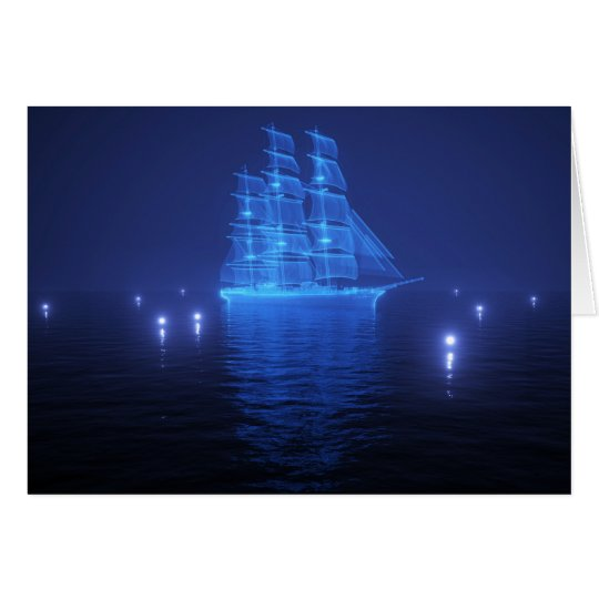 The Flying Dutchman Greeting Card