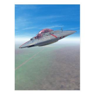 The Flying Saucer Postcard