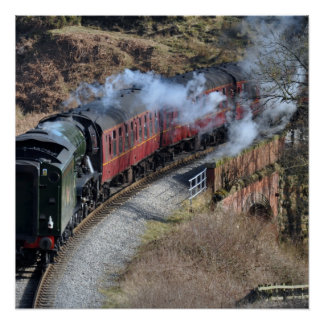 The Flying Scotsman 60103 Countryside Poster