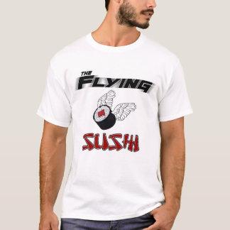 The Flying Sushi Ringer T-Shirt