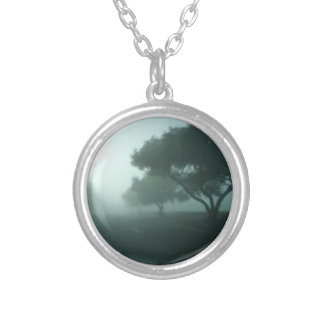 The Fog Silver Plated Necklace