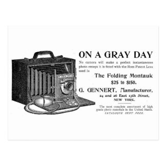The Folding Montauk Camera Postcard