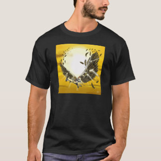 the folly and the fall of Icarus T-Shirt