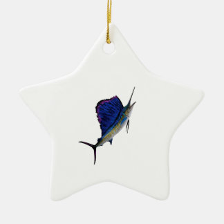 THE FORCEFUL MOVE CERAMIC STAR DECORATION