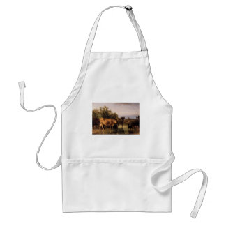 The Ford by Constant Troyon Standard Apron